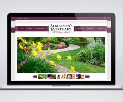 albertsons-mortuary-website