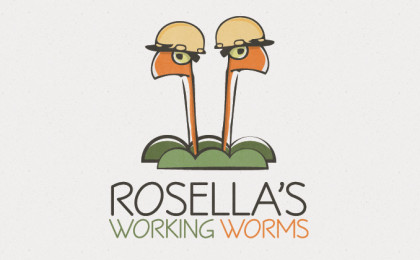 rosellas-working-worms-logo