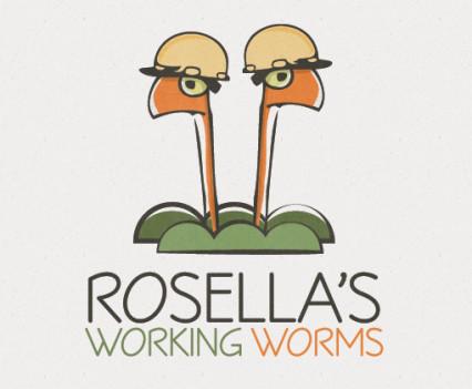 rosellas-working-worms-logo