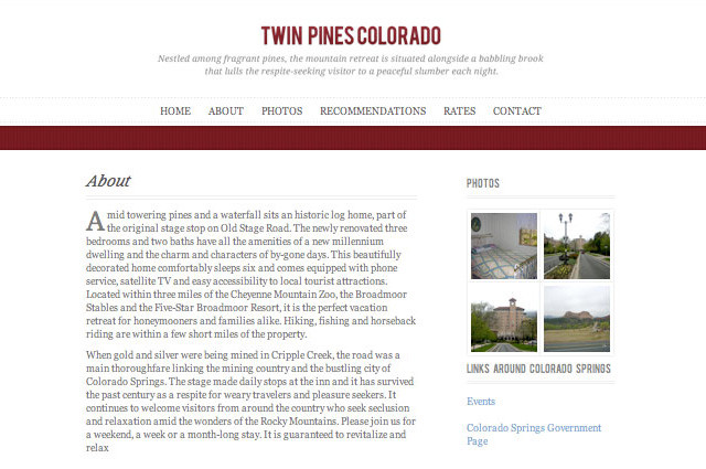 Twin Pines Colorado
