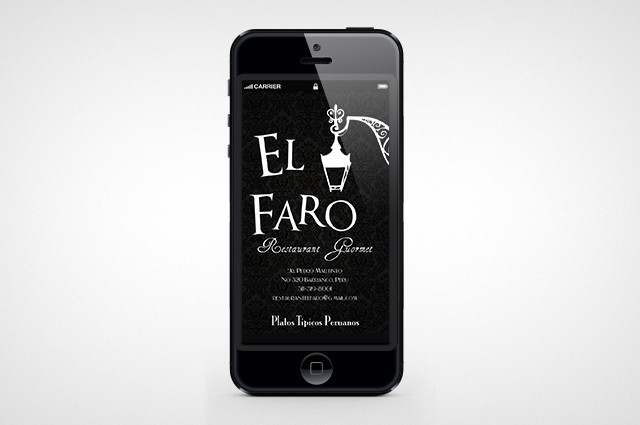 El Faro Interface